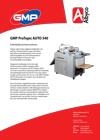Download hier de brochure van de GMP 540 Auto