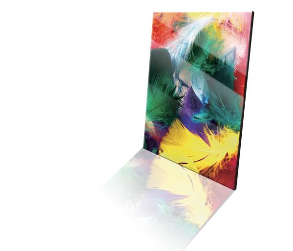 Acrylplaat met afbeelding