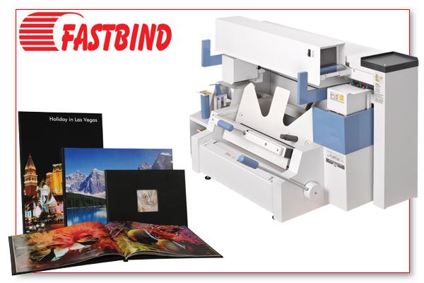 Met de premium bindsystemen van Fastbind creëert u een brede range van premium paperbacks, hardcoverboeken en fotoalbums.