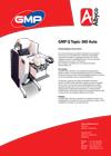 Download hier de brochure van de GMP QTopic-380 Auto