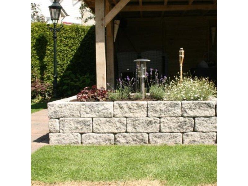 TuinVisie Blackburn Walling Abbey Grey 30x10x14 cm