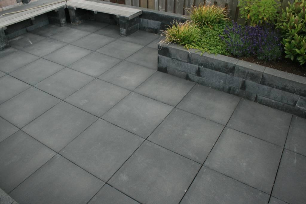 Antraciet Tegels 60x60 : Antraciet tegels 60x60: vloertegel louvio antraciet 60x60 cm kopen