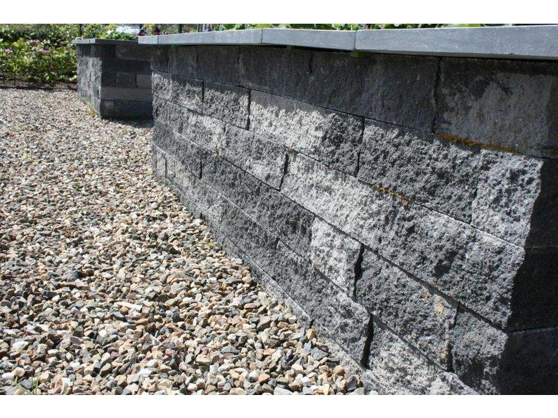TuinVisie Wallblock split Smook 10x10x40 cm