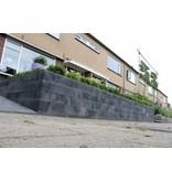 TuinVisie Wallblock new Antraciet 15x15x60 cm