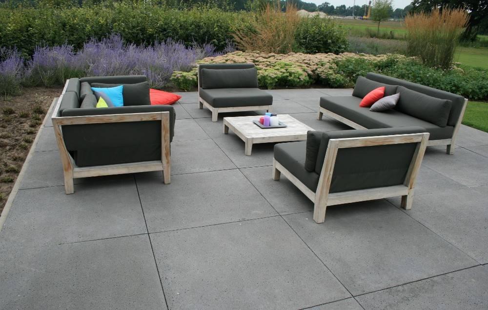 Oud hollandse tegel antraciet 60x60x5 cm top tuinmaterialen for Schellevis tegels aanbieding