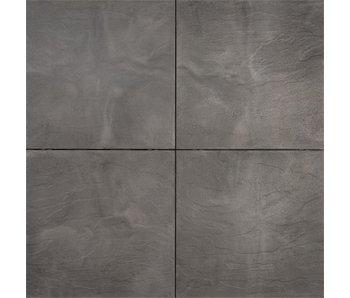 TuinVisie Axenta Slate Noir 60x60x4 cm