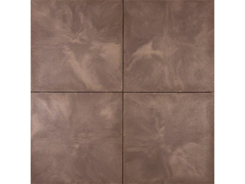 Tuinvisie axenta plata bruno 60x60x4 cm top tuinmaterialen for Bruine tegels