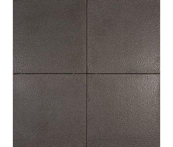 Tuinvisie metro tegel primeur antraciet 60x60x4 cm top tuinmaterialen - Tegel metro kleur ...