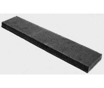 Schellevis Oud Hollandse opsluitband 100x20x7 cm carbon