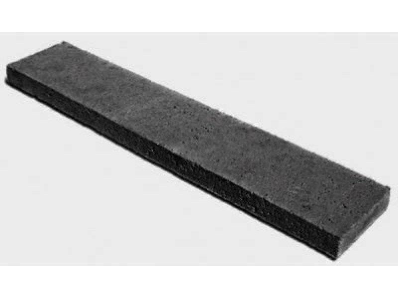 Schellevis Oud Hollandse opsluitband 100x50x7 cm carbon