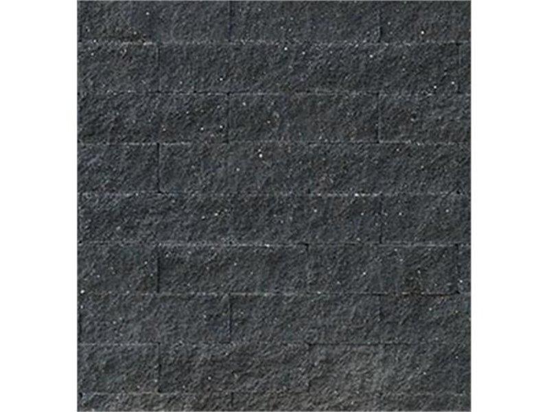 TuinVisie Wallblock split Antraciet 15x6x40 cm
