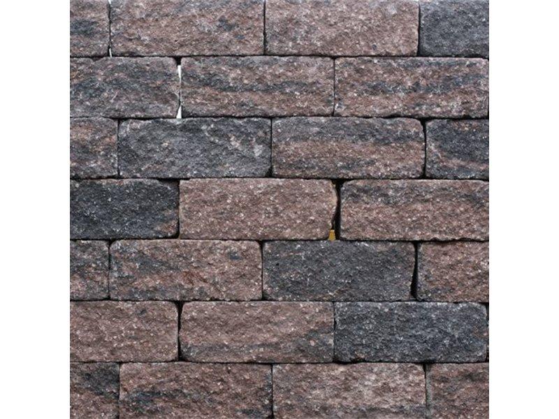 TuinVisie Wallblock thumbled Brons 12x12x30 cm