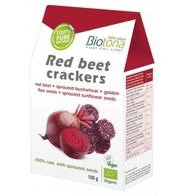 Biotona Red beet crackers
