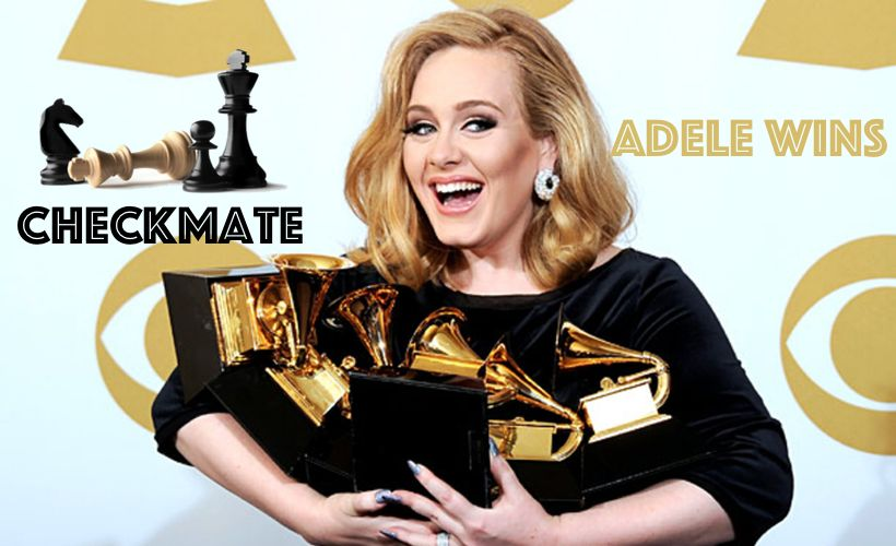 Checkmate, Adele Wins