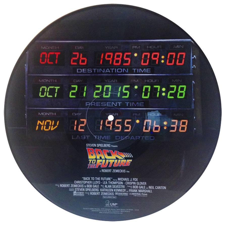 back to the future soundtrack back to the future back to the pictures