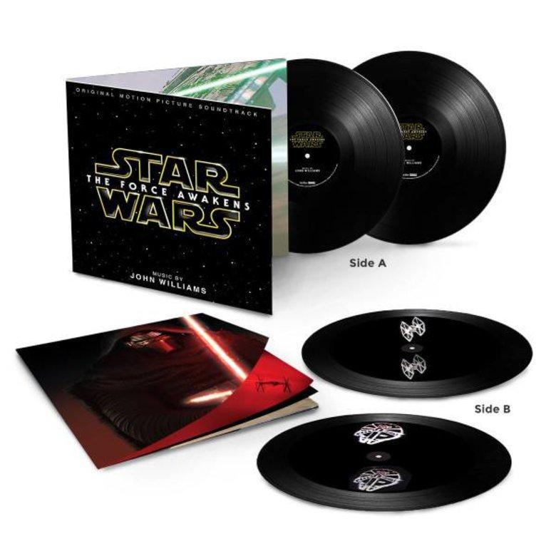 SOUNDTRACK (OST) STAR WARS EPISODE VII: THE FORCE AWAKENS -LTD--HOLOGRAM EDITION-