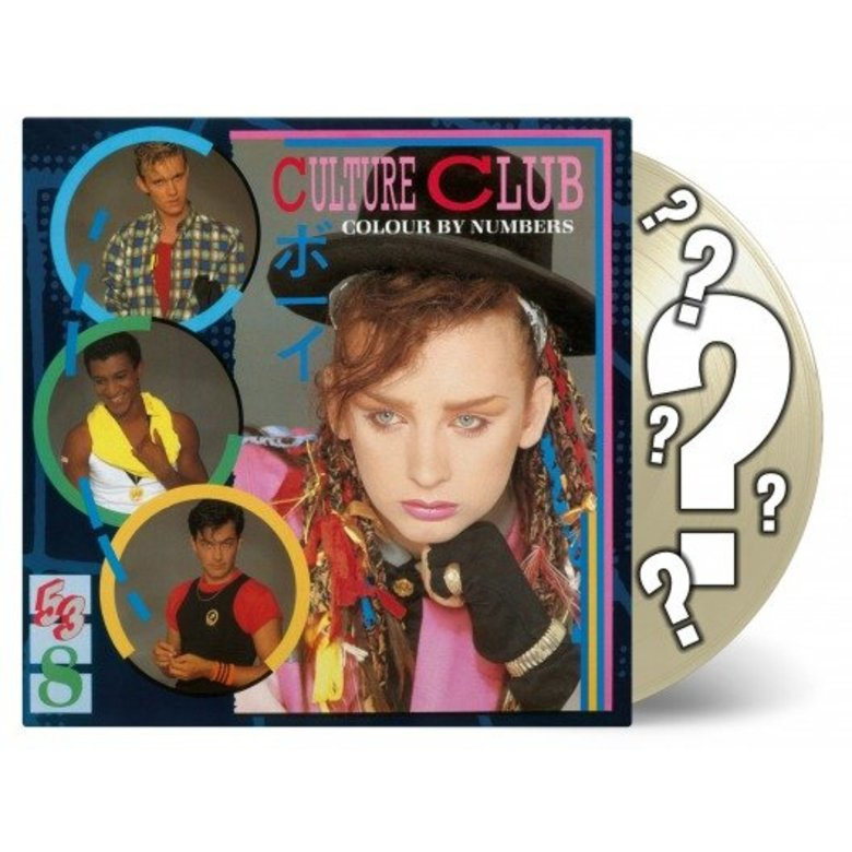 CULTURE CLUB COLOUR BY NUMBERS -LTD-