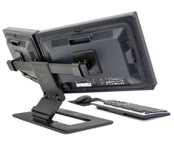 Hp Adjustable Dual Display Stand Aw664aa Carya Group