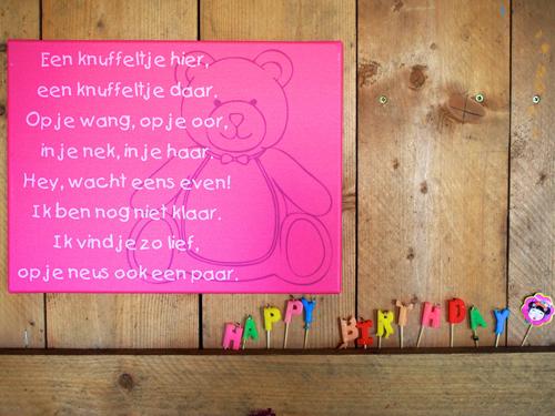 tekst op canvas voor de baby- of kinderkamer - tekstopcanvas, Deco ideeën