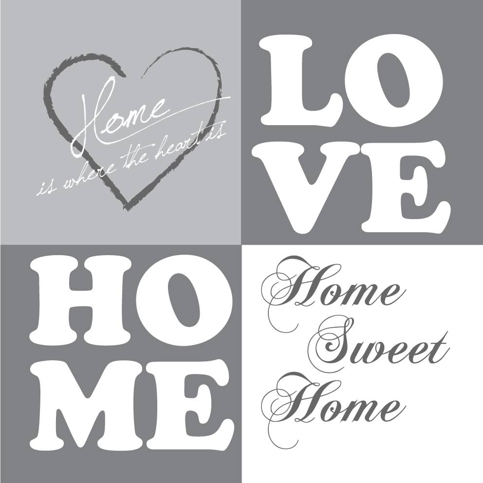 tekst op canvas love home tekstopcanvas