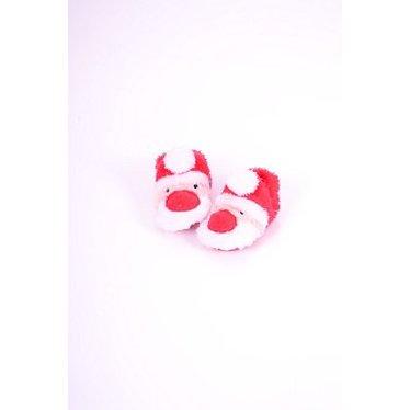 APOLLO slofjes kerstman wit