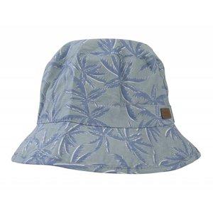 MELTON jungle blauw zonnehoedje