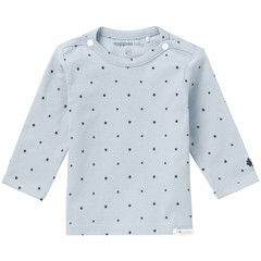NOPPIES Texas nos longsleeve grey blue stars