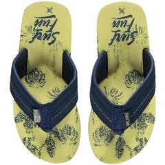 Slippers lemon floran