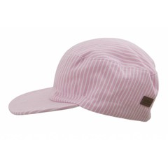 MELTON petje striped pink