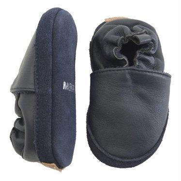 MELTON Melton leren baby schoentjes dark blue