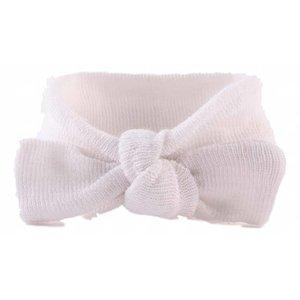 NEW BORN ademend haarbandje white