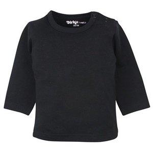 DIRKJE BABYKLEDING shirt basic lange mouwen black