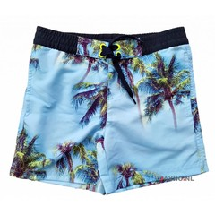 LENTIGGINI Zwemshort neon yellow blue navy