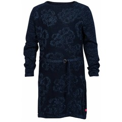 LE BIG gyllian dress marineblauw met glitters