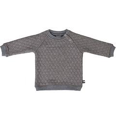 KIDS - UP sweater grijs gestept