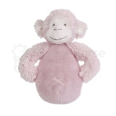 HAPPY HORSE Pink Monkey Mickey Rattle