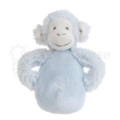 HAPPY HORSE Blue Monkey Mickey Rattle