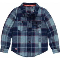 Quapi gill shirt navy check