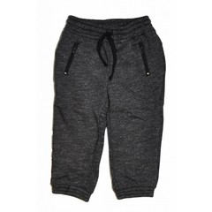 KNOT SO BAD jongens jogging trouser twisted dark grey