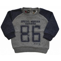 KNOT SO BAD sweater supporter 86 grey/navy