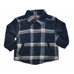 KNOT SO BAD blouse checkered blue