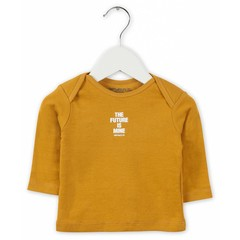 IMPS&ELFS t-shirt long sleeve warm yellow