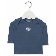 IMPS&ELFS t-shirt long sleeve steel blue