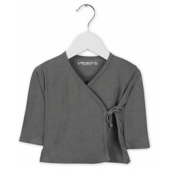 IMPS&ELFS cardigan long sleeve stone grey