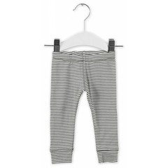 IMPS&ELFS trousers slim stone grey  off white