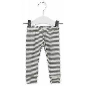 IMPS&ELFS trousers slim stone grey  off white