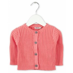 IMPS&ELFS cardigan long sleeve dark doll pink