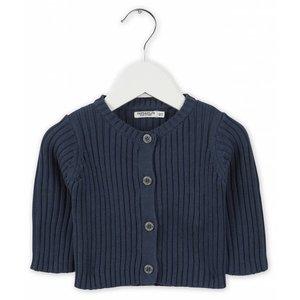IMPS&ELFS cardigan long sleeve dark steel blue