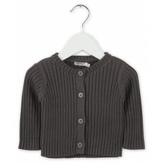 IMPS&ELFS cardigan long sleeve dark stone grey