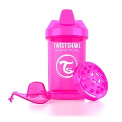Twistshake Crawler cup 300 ml pink